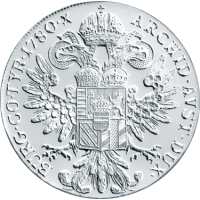 28,07 g, Srebrni Taler Marija Terezija, pokov