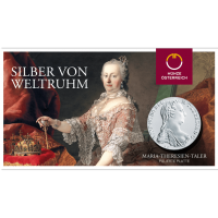 28,07 g, Maria Theresa Taler - Proof, Blister
