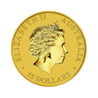 3,133 g, Australian Kangaroo Gold Coin 1989 - 2018