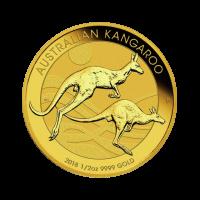 15,594 g, Zlati Avstralski kenguru 1989 - 2018