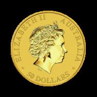 15,594 g, Australian Kangaroo Gold Coin 1989 - 2018