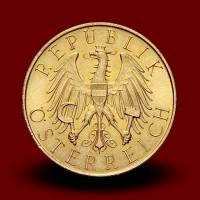 5,88 g, Zlati kovanec 25 ATS 1927,1929