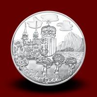 17,30 g, Oberösterreich (2016), Austria Piece by piece Series - UNC