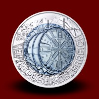16,5 g (Ag/Nb), Tunnel Construction (2013), Niobium coin**
