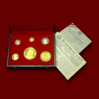 AVNOJ Collection, Gold and Silver Coins