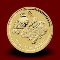 311,62 g, Australian Lunar Gold Coin - Year of Rabbit (2011)
