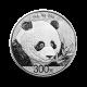 1000 g, Srebrni Kitajski panda