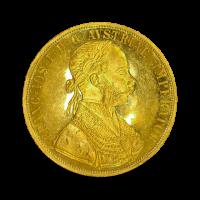 13,96 g, Zlati dukat - štirikratni 1908