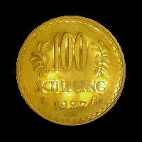 23,52 g, 100 Schilling Gold Coin, 1927