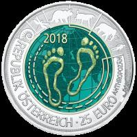 16,5 g, Srebrni niobij - Antropocen, 2018