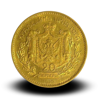 23,73 g, Gold Perpers (3 x 20 DIN, 1 x 10 DIN), 1910