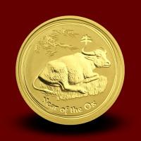 31,162 g, Australian Lunar Gold Coin - ox 2009