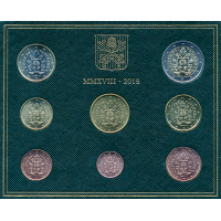 Vatican, Euro collection 2018
