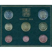 Vatikan, Euro kolekcija 2018