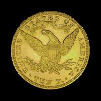 16,71 g, 10 USD Gold Coin, Coronet Head 1907