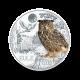 16 g (Cu/Ni), Sova - 3 € zbirateljski kovanec (2018), serija Živali v barvah