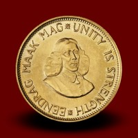 7,9881 g, Zlati Južnoafriški 2 rand / South Africa 2 Rand Gold Coin