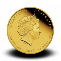 3,133 g, Australian Lunar Gold Coin - Year of the Pig 2019