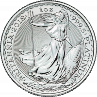 31,21 g, UK Britannia Platinum Coin