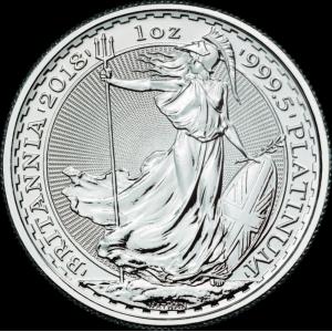 31,21 g, UK Britannia Platinum Coin