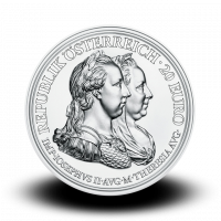 22,42 g, Empress Maria Theresa - Prudence and Reform, 2018