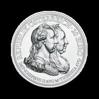 22,42 g, Cesarica Marija Terezija, Zakladi zgodovine - Srebrnik Preudarnost in spremembe, 2018, 2018