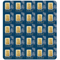 25 x 1 g, Gold bar Fortuna - Multicard