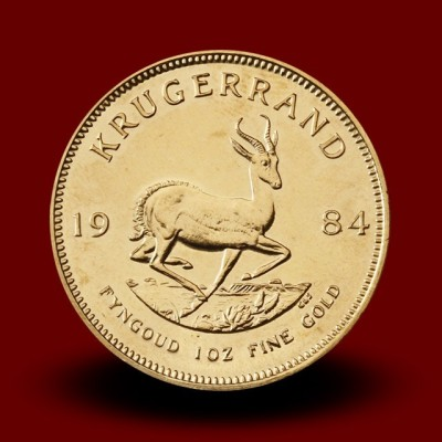 33,931 g, Zlati Južnoafriški krugerand / South Africa Krugerrand Gold Coin