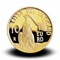 3 g, zlatnik Il Battesimo - Sveti krst, 2018