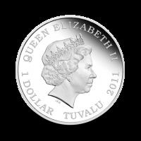 31,14 g, Orangutan Silver coin - Wildlife in need Series