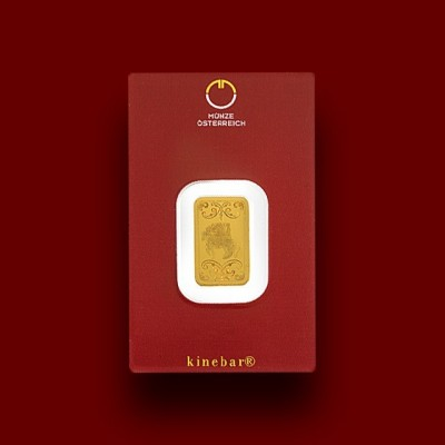 1 g, Zlata palica / Gold bar