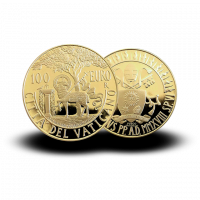 30 g, Pontificate of Pope Francis Gold Coin - Second Vatican Council 2018