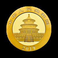 1 g, Zlati Kitajski panda 2019