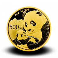 30 g, China Panda Gold Coin 2019
