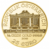 7,7759 g, Vienna Philharmonic Gold Coin 1989-2019