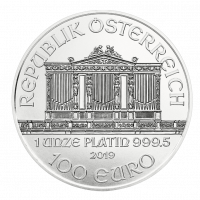 31,1035 g, Dunajski filharmoniki iz platine 2016