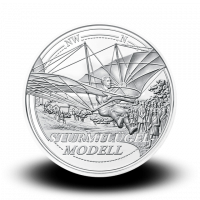 22,42 g, Reaching for the Sky - The Dream of Flight Silver coin, 2019