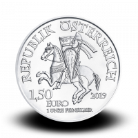 31,07 g, The 825th Anniversary of the Vienna Mint - Leopold V., 2019