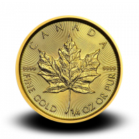 7,797 g, Canadian Maple Leaf Gold Coin