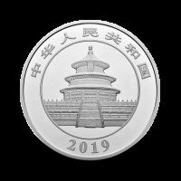 1000 g, China Panda Silver Coin - 2019
