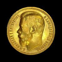 12,9 g, Zlati 15 Rubel, Nikolaj II (1897)
