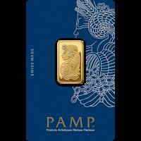 10 g, Gold Bar PAMP
