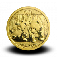 1,5556 g, China Panda Gold Coin (2010)