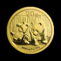 1,5556 g, Zlatni Kineski panda (2010)
