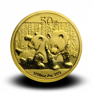 3,113 g,  China Panda Gold Coin (2010)