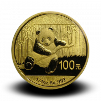 7,7783 g, China Panda Gold Coin (2014)