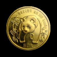 15,57 g, China Panda Gold Coin (1986)