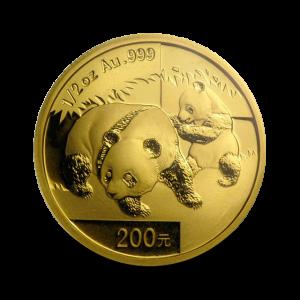 15,57 g, China Panda Gold Coin (2008)