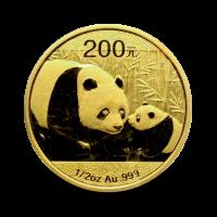 15,57 g, China Panda Gold Coin (2011)
