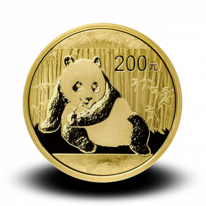15,57 g, China Panda Gold Coin (2015)